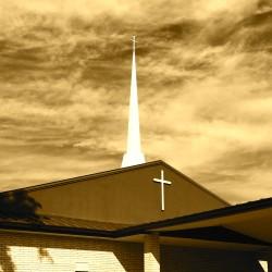 steeple (sepia)