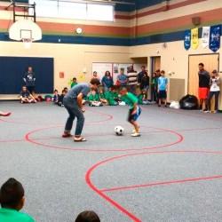 Soccer Club, Indoor Demo